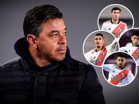 Carrascal o Paradela, la única duda de Gallardo para enfrentar a Boca