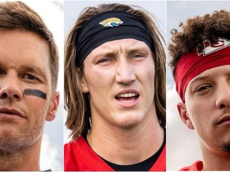 Brady, Mahomes, Lawrence y los QB más codiciados para la NFL 2021-2022