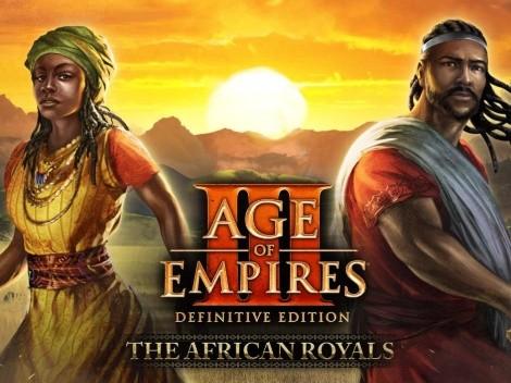 """Age of Empires III recibe su expansión """"African Royals"""" con nuevas civilizaciones y funciones"""