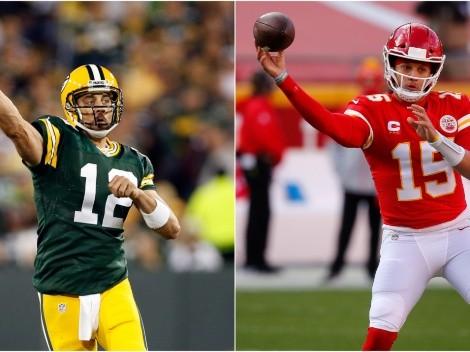Mahomes, Rodgers y los mejores mariscales de la NFL según el Madden 2022