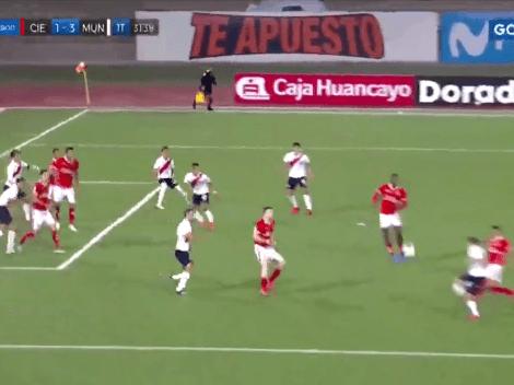 El gol de la fecha: Piero Ratto anotó una pepaza de volea con Deportivo Municipal