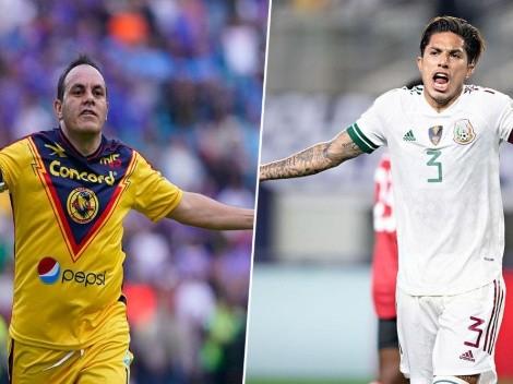 Cuauhtémoc Blanco defendió a Carlos Salcedo