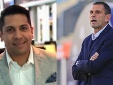Rodrigo Herrera tildó de agrandado a Gustavo Poyet