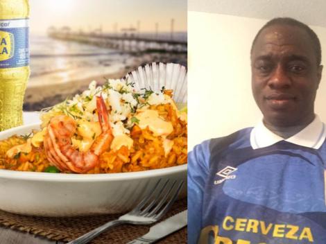 """Prince Amoako, subcampeón de la Copa Libertadores: """"Extraño el arroz con mariscos con su Inca Kola"""""""