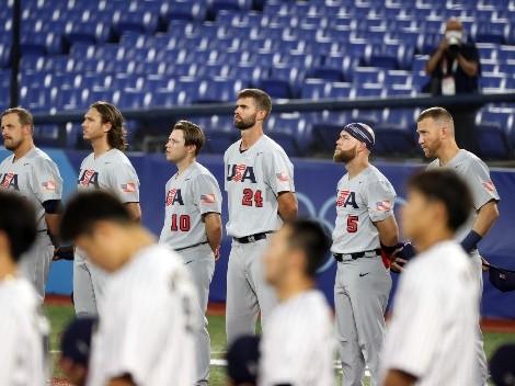 HOY   Estados Unidos vs República Dominicana EN VIVO ONLINE: Pronóstico, horario y canal de TV para ver el béisbol masculino de los Juegos Olímpicos Tokio 2020