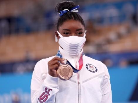Simone Biles y la marca que empató gracias a sus dos medallas en Tokio 2020