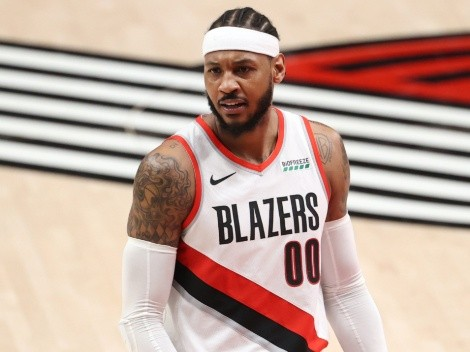 NBA   Carmelo Anthony's contract with the Los Angeles Lakers