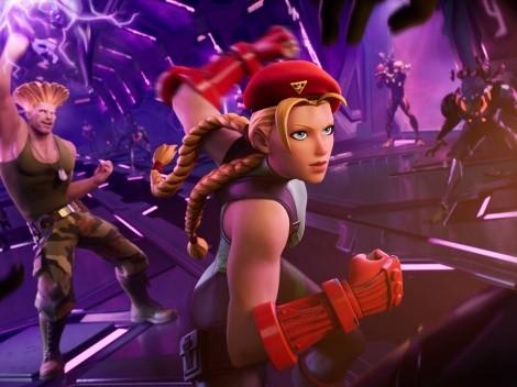 Guile y Cammy de Street Fighter llegarán a Fortnite