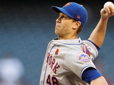 Jacob deGrom enfocado en volver pronto con los New York Mets