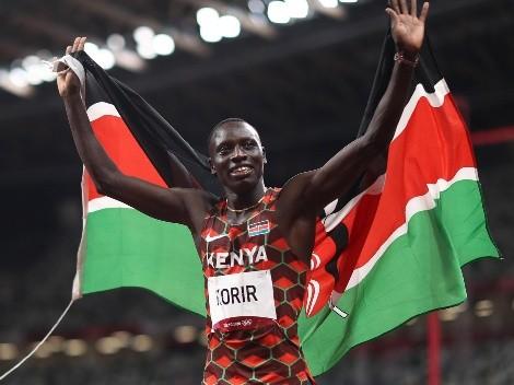 Emmanuel Korir se queda con el oro en los 800 masculino