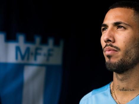 Contrato largo: Sergio Peña fue oficializado como nuevo jugador del Malmo de Suecia