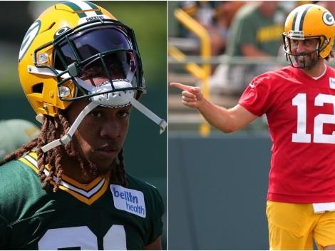 El consejo que Aaron Rodgers le dio a nuevo jugador novato de Green Bay Packers