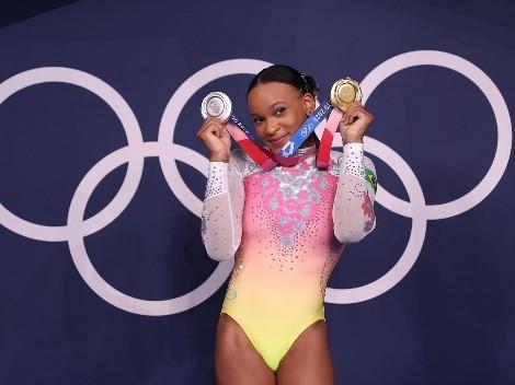 Rebeca Andrade será porta-bandeira do Brasil na cerimônia de encerramento das Olimpíadas