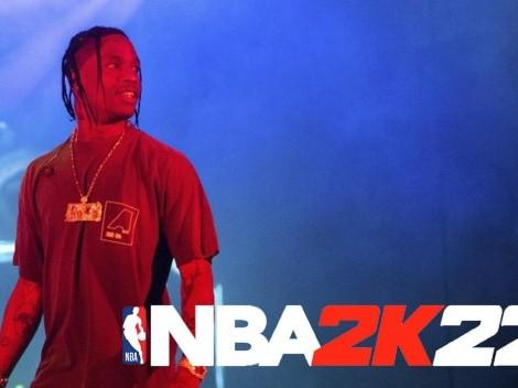 Travis Scott será el artista principal en el soundtrack del NBA 2K22
