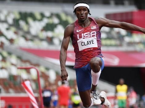 VER HOY a Will Claye en la final de salto triple masculino EN VIVO en los Juegos Olímpicos de Tokio 2020