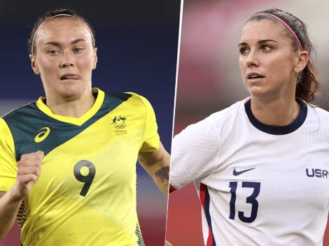 Australia vs. Estados Unidos EN VIVO por el bronce del fútbol femenino en Tokio 2020: horario y canal de TV