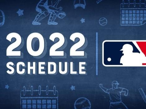 Las fechas claves de la temporada 2022 en MLB