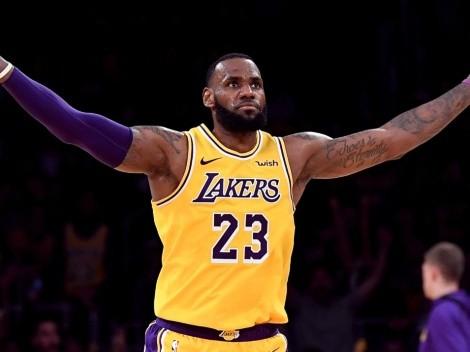 El increíble dato de LeBron James en los renovados Lakers