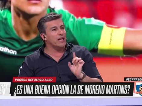 Solabarrieta cree no es necesaria la llegada de Moreno Martins a Colo Colo