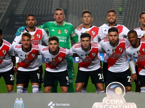 Paulo Díaz y River Plate se despiden de la Copa Argentina
