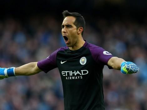 Claudio Bravo y su recuerdo con el Manchester City
