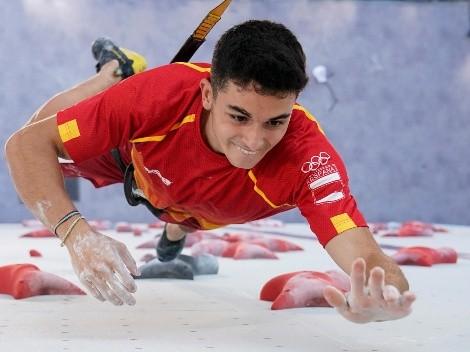 Cómo ver a Alberto Ginés López en la final de escalada en los Juegos Olímpicos