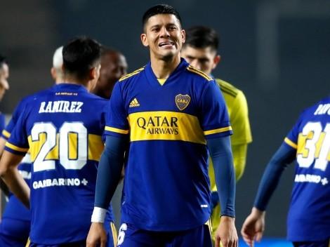 """""""Para jugar estos partidos estoy en este hermoso club"""": las palabras de Rojo para Boca"""