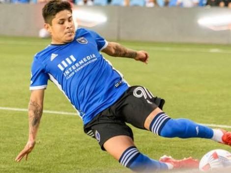 La Chofis López anotó en el empate del San José Earthquakes con el Portland Timbers