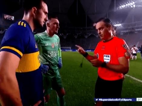 """Video: Loustau le dijo """"equipo B"""" a River en el sorteo de los penales"""
