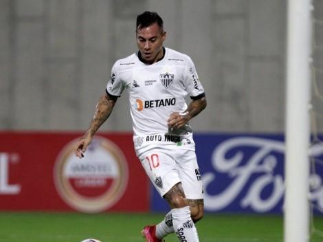 Eduardo Vargas anotó y salvó al Atlético Mineiro en la Copa de Brasil