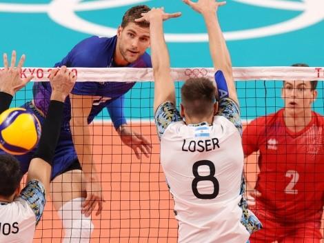 Vóley: Argentina no pudo con Francia y jugará ante Brasil por la medalla de bronce