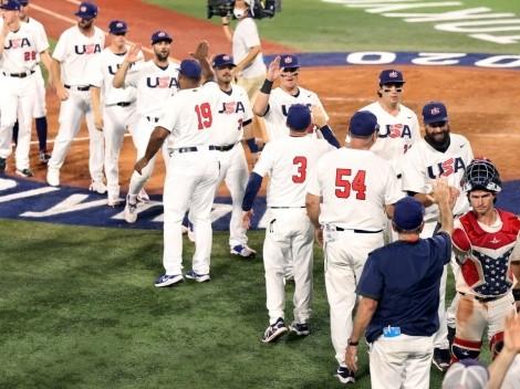Estados Unidos va por la medalla de oro en Béisbol de Tokio 2020
