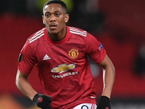 Report: Everton are the front runners for Manchester United's Anthony Martial