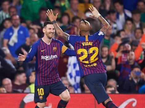 """Vidal: """"Le voy a hablar a Leo para ver si se quiere venir a Rodelindo"""""""
