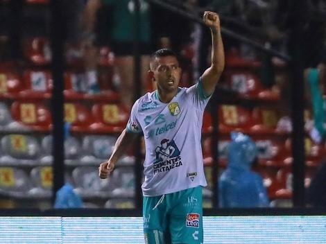 En una noche pasada por agua, León derrotó a Querétaro en Corregidora