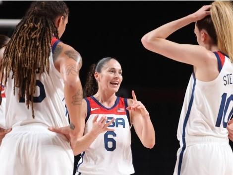 La WNBA se asegura medalla y llega a la final de Tokio 2020