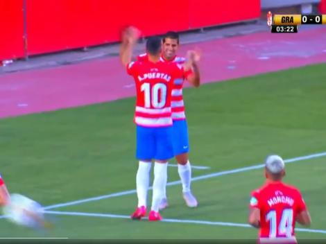 Nuevo Messi para la Liga: Luis Abram metió su primer gol con Granada en solo 3 minutos