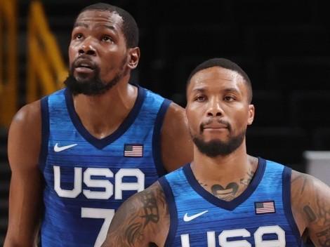 ¿Durant o Lillard? Estrellas elijen a quién le dan el último tiro en USA