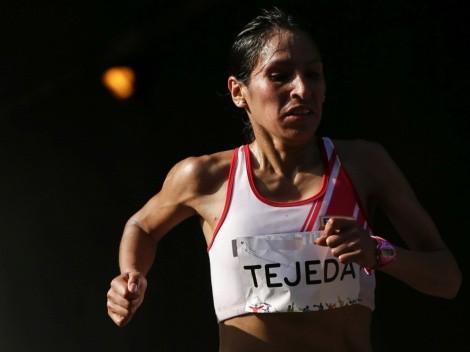 ¿Y así se quejan? La foto de Gladys Tejeda en silla de ruedas tras la maratón femenina de Tokio 2020