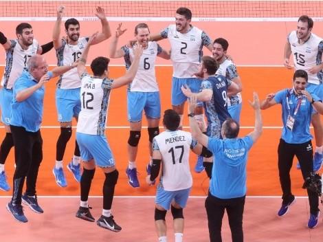 ¡Vamos los pibes! Argentina, medalla de bronce en vóley tras ganarle a Brasil