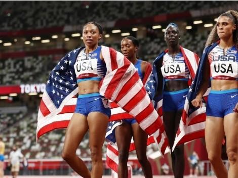 EEUU gana el oro en el relevo 4x400 metros y Allyson Felix pasa a ser leyenda