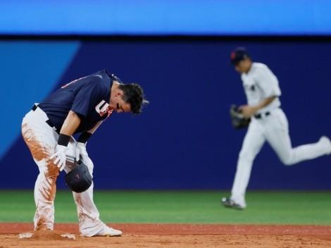 Estados Unidos se queda con la medalla de plata en béisbol de Tokio 2020