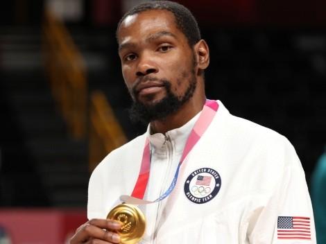 Kevin Durant le tira a los críticos tras ganar la medalla de oro en Tokio 2020