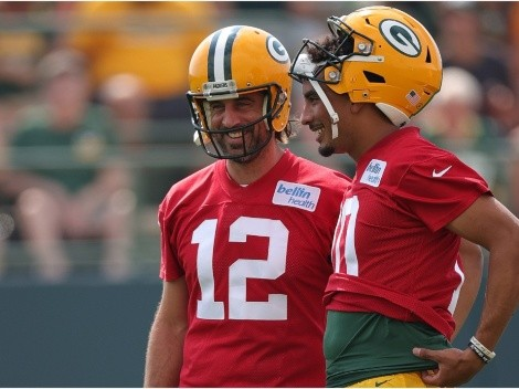 Jordan Love opens up on Aaron Rodgers' return to the Packers