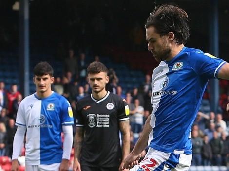 Apareció Ben: El delantero chileno convierte en la victoria del Rovers