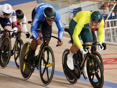 Nos puso a soñar: Kevin Quintero fue semifinalista en el ciclismo de pista de Tokio