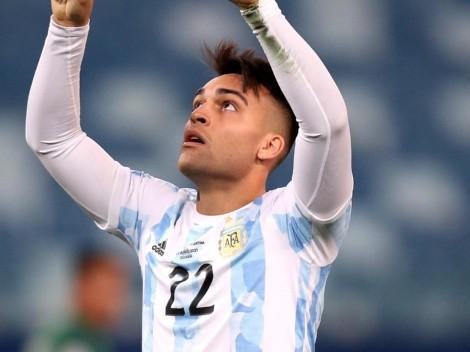 Lautaro Martínez, a nada de ser nuevo jugador del Tottenham