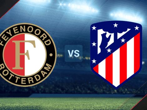HOY EN VIVO | Feyenoord vs. Atlético Madrid por un amistoso internacional: hora y TV para seguir el partido EN DIRECTO