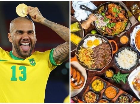 """Dani Alves ganó oro en Tokio y reconoció su gusto por la comida peruana: """"Es una de mis preferidas"""""""