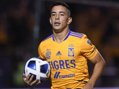 """""""Dibuje, maestro"""": Tigres presume jugada de Leo Fernández ante Santos"""